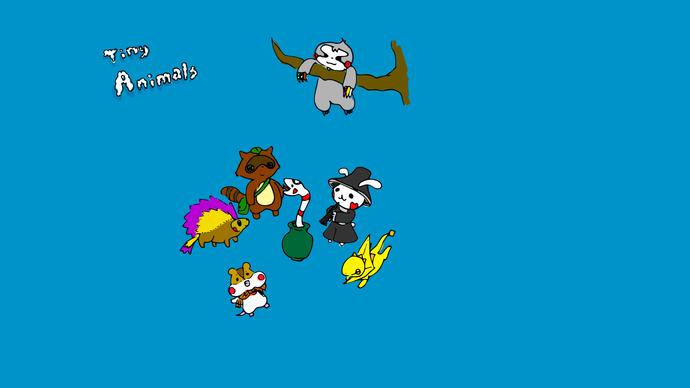 Tiny animals 3