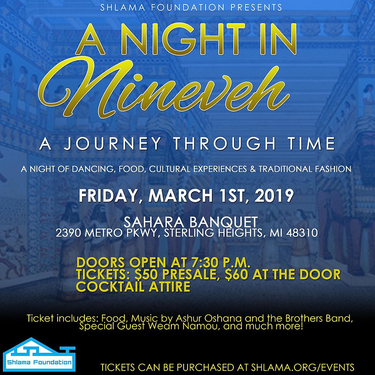 A Night in Nineveh: A Journey through Time