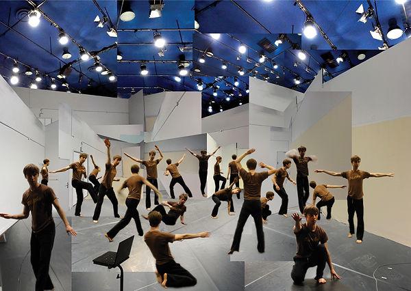 Daniel Linehan portrait, Timothy Shepard, Centre de Développement Chorégraphique Toulouse, zombie aporia