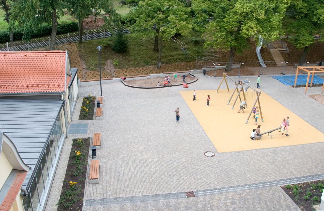 Schulhof Renthofstraße 3