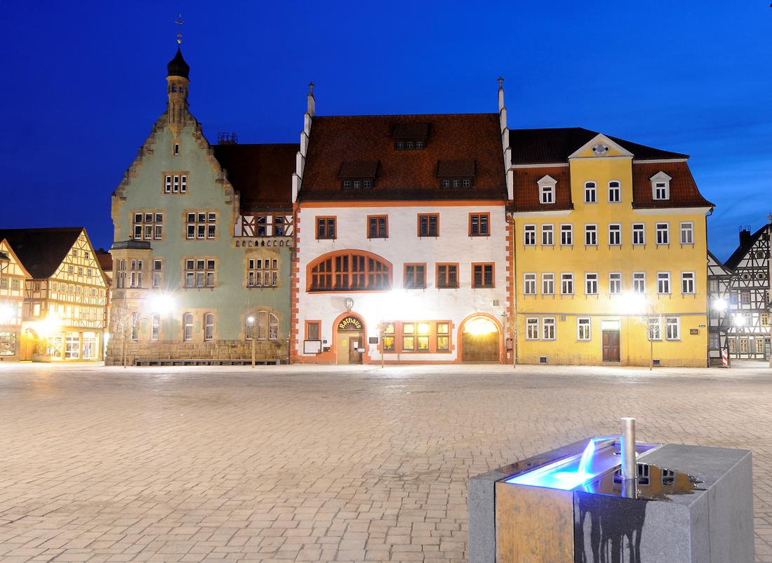 Entrée Rathaus 1