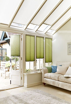 Pleated Blinds by UK Blinds