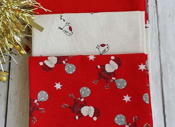 Christmas cottons fat quarter bundle