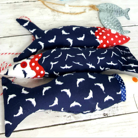 Craft Share make fabric fish