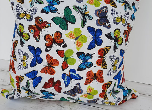 Cotton butterfly cushion cover