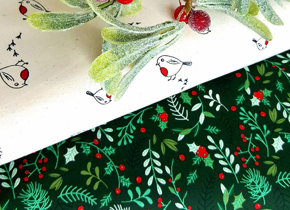 Rose &Hubble Christmas cotton
