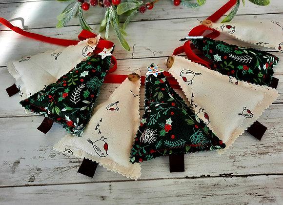 Christmas bunting diy craft kit