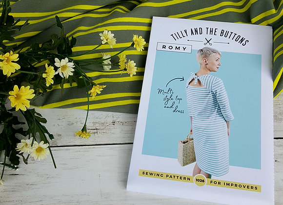 Tilly and the Buttons Romy dress sewing pack