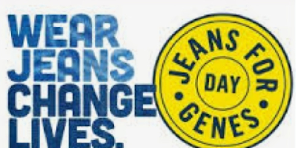 Jeans for Genes charity craft workshop