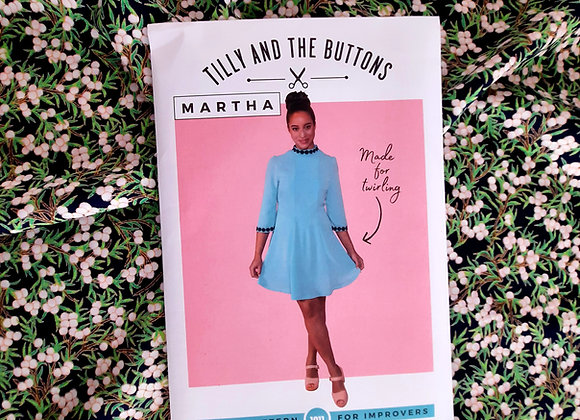 Mini dress Tilly and the Buttons dressmaking kit
