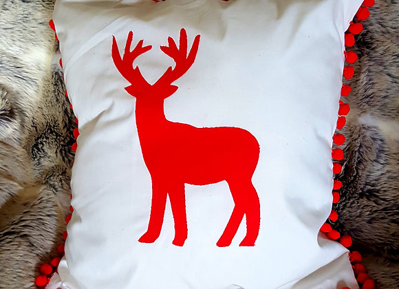 Scandi style Stag cusion