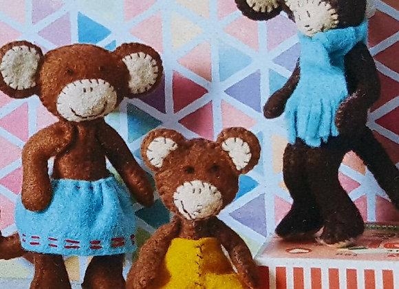 Corinne Lapierre sewing kit of monkeys