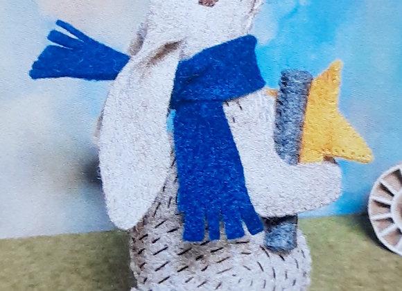 Star gazing hare craft kit Corinne Lapierre