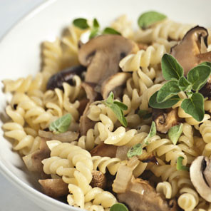 Fusilli Fungi with Mushrooms