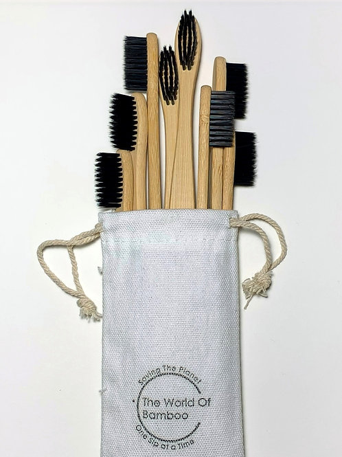 Bamboo toothbrush package