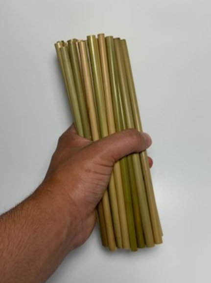 Bulk bamboo straw bundle (50 straws)