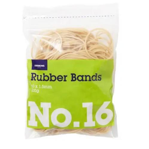 No. 16 ELASTIC RUBBER BANDS