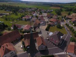 Vue partie du village