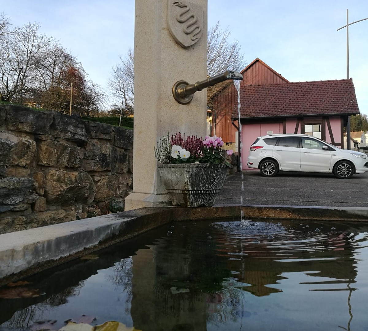 Fontaine du village