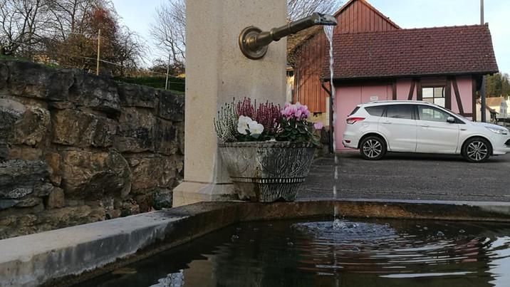 Fontaine du village