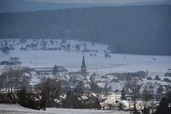 hiver sur Fislis