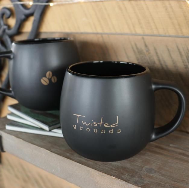 Black Coffee Mug | 13oz