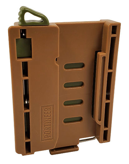 Portineer P1 MOLLE Connector front view