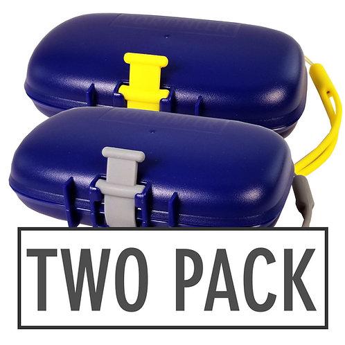 Carry-Dri EZ Blue-Grey-Yellow 2 Pack