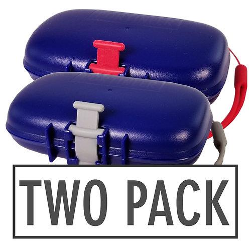 Carry-Dri EZ Blue-Grey-Red 2 Pack