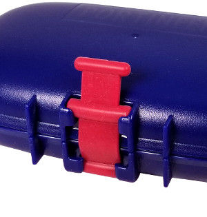 Portineer Carry-Dri EZ travel soap case with silicone strap to hold lid closed