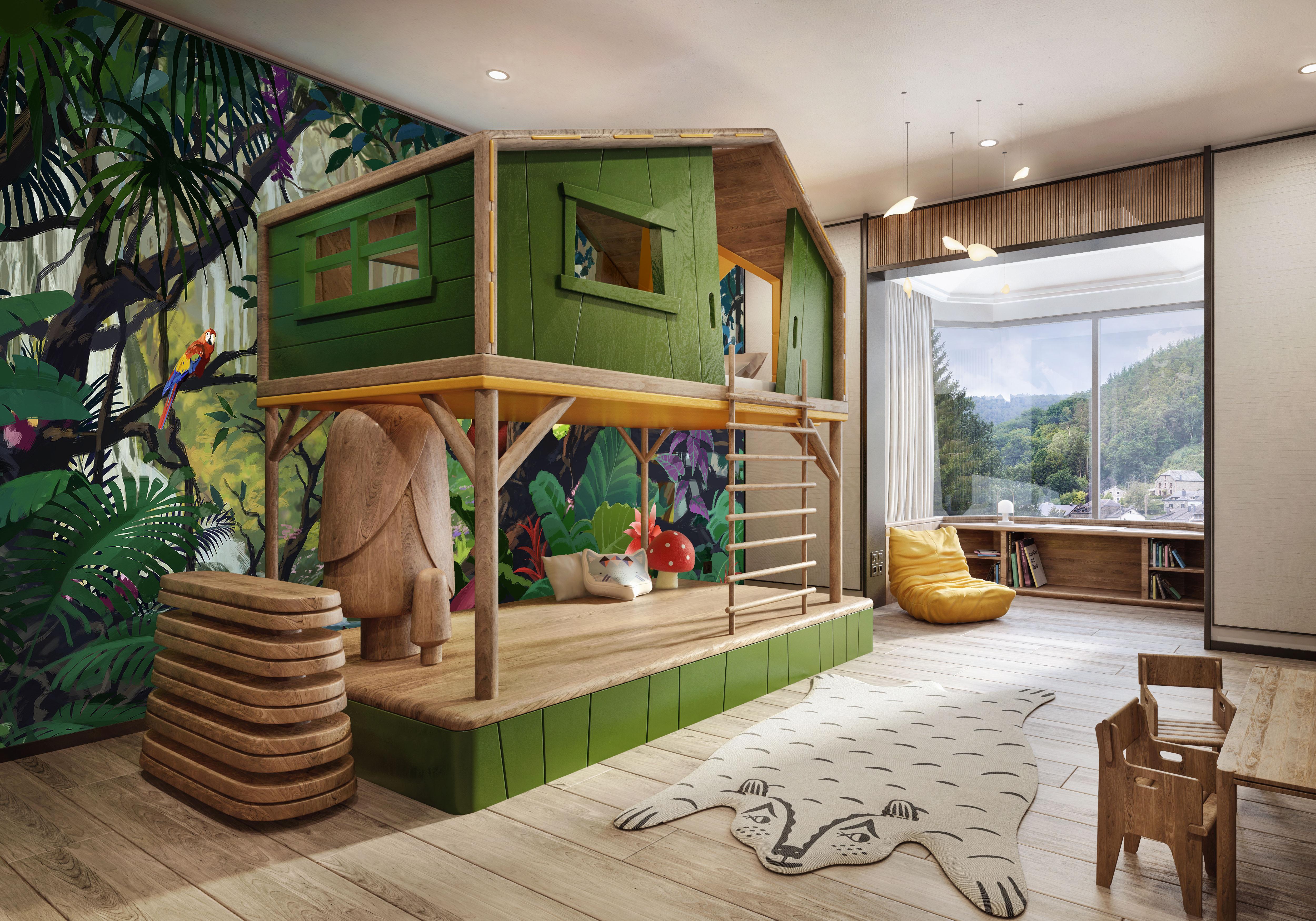 SHANGRI-LA KIDS ROOM