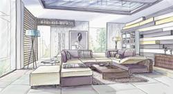 Sketchy07-purple-living-room-interior
