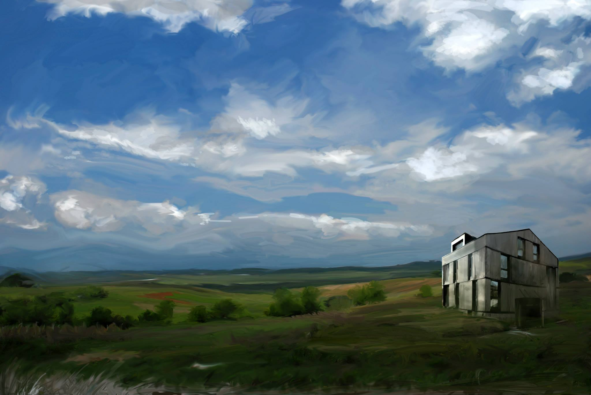 Sketchy01-lonely-house-in-the-field