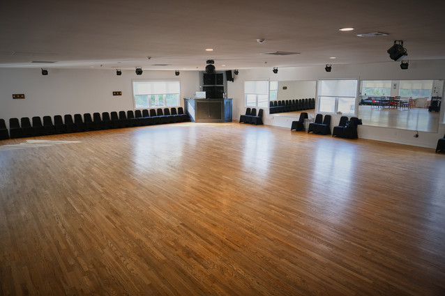 Exclusively Dance Studios main ballroom