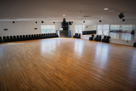 Exclusively Dance Studios main ballroom