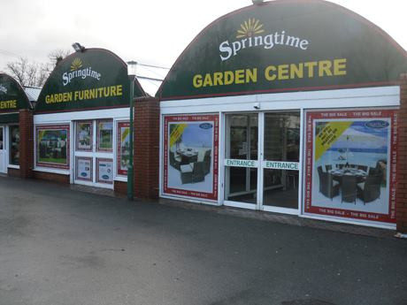 Our work for springtime Garden centre, high quality design at its best!