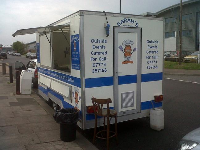 Sarah's Van!