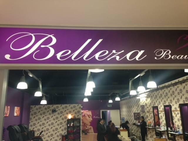 Belleza Beauty shopfront!