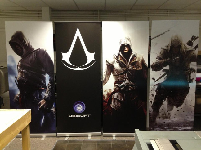 Assassins Creed Roller Banners!