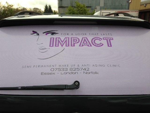 Car stickers for impact!