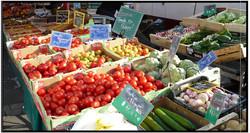 Visite du marché