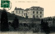 Carte postale Hôpital - Cours