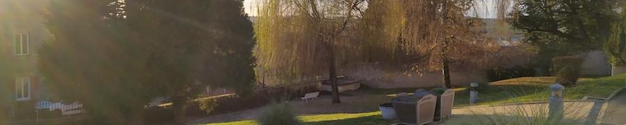 Le parc à Bourg De Thizy