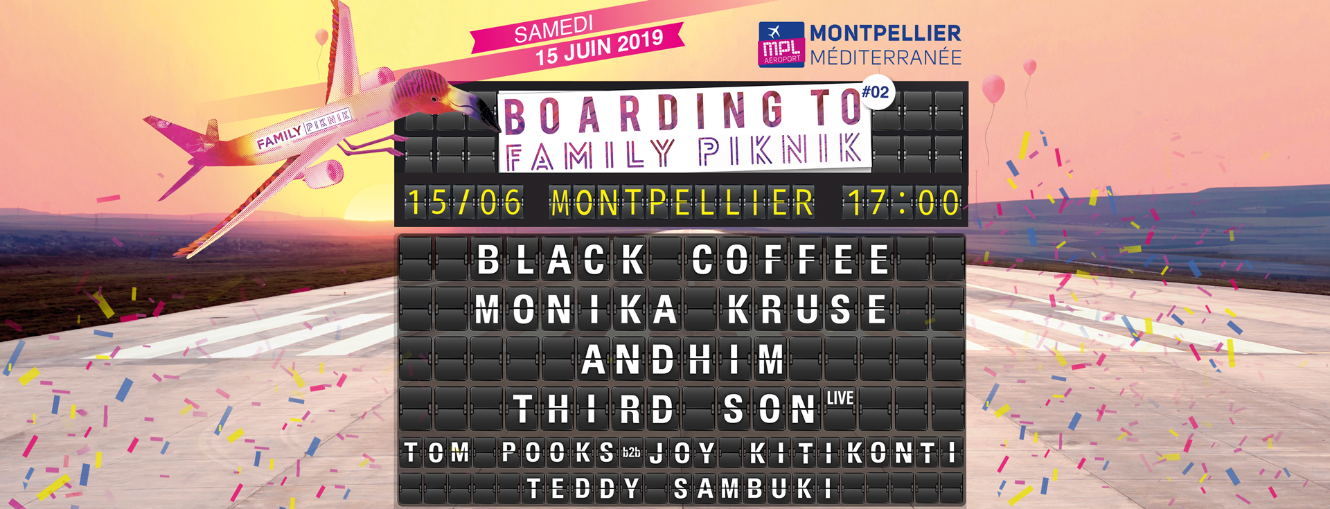 Boarding to Family Piknik 2019