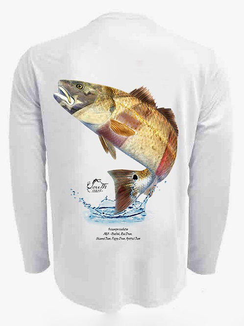 The South Coast Fish Series Men's, Lady's or Youth UPF 50