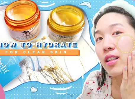 如何加強保濕、強化皮膚屏障?改善毛空粗大&肌膚缺水問題 💦(中文CC字幕)
