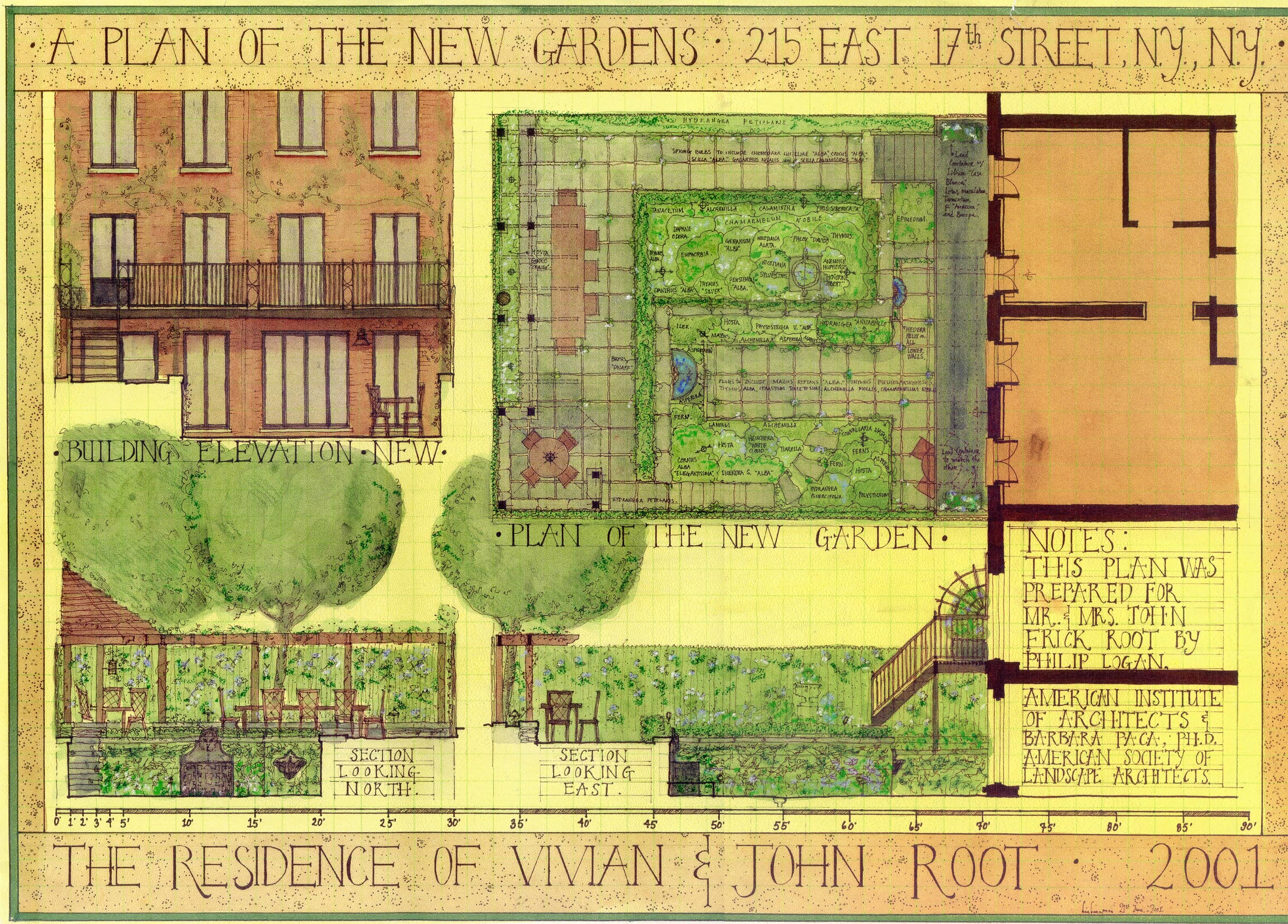 17th St Townhouse Gardens