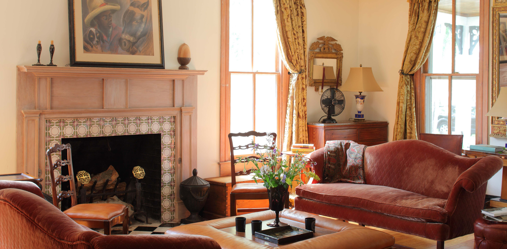 Living Room at West Strand