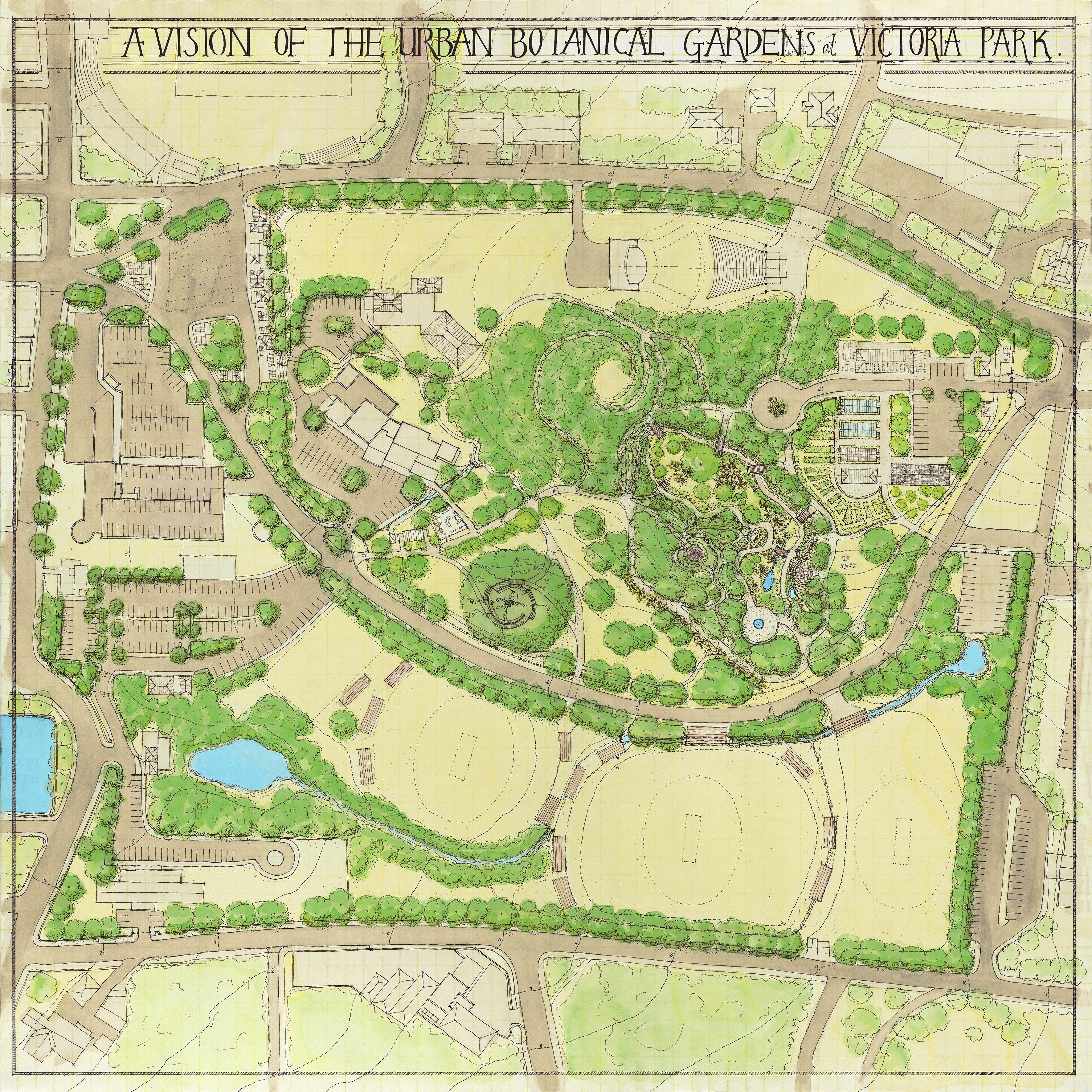 Victoria Park & Botanical Gardens