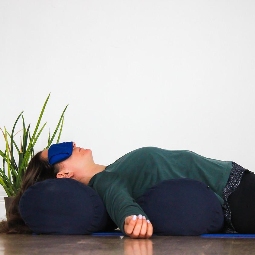 Winter's Embrace Yin, Restorative + Yoga Nidra Supper